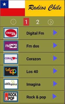 Radios Chile poster