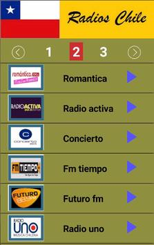Radios Chile screenshot 1