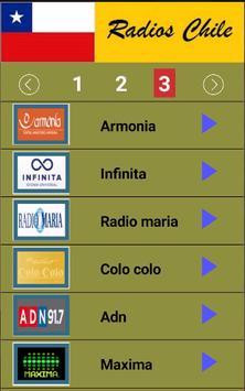 Radios Chile screenshot 2