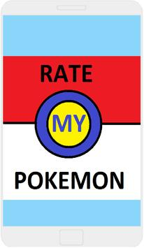 Rate My Pokemon. poster