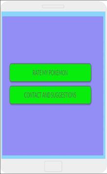 Rate My Pokemon. apk screenshot