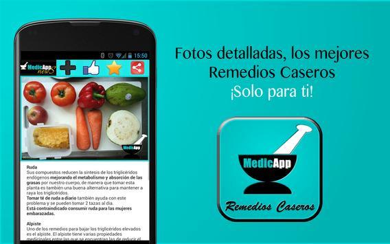 Remedios Caseros -MedicApp apk screenshot