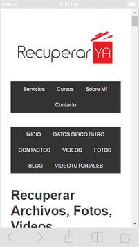 Recuperar fotos y Videos apk screenshot