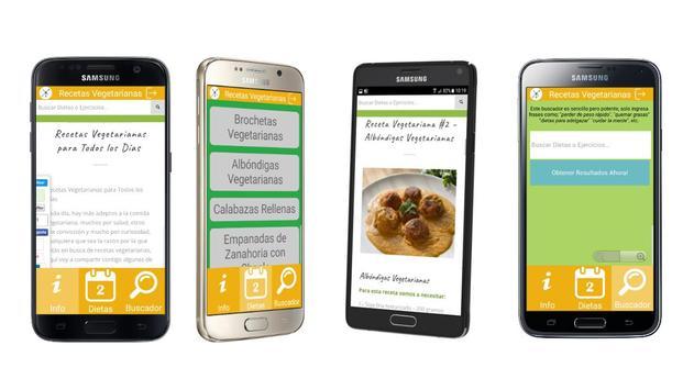 Recetas Vegetarianas apk screenshot