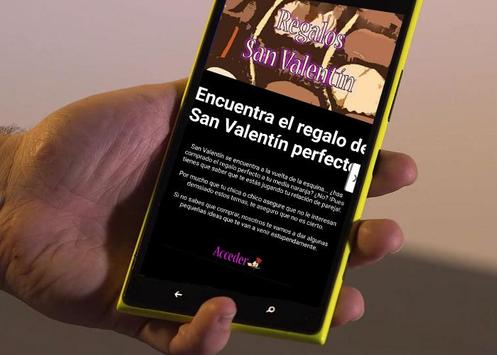 Regalos San Valentin 2016 poster