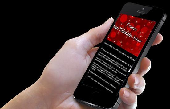 Frases San Valentín Amor 2016 apk screenshot