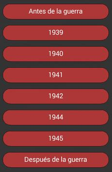 Relatos de la Segunda Guerra Mundial apk screenshot