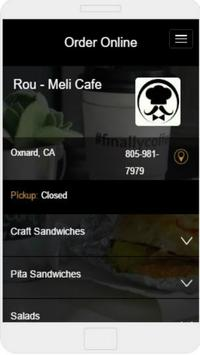 Rou-Meli Cafe apk screenshot