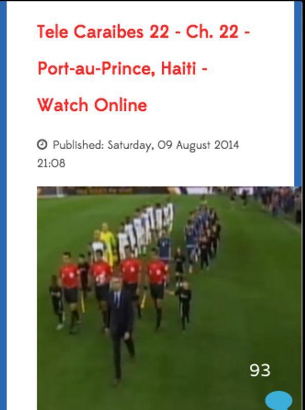 Rtvc portauprince haiti app apk baixar gr tis reproduzir - Radio caraibes 94 5 fm port au prince ...