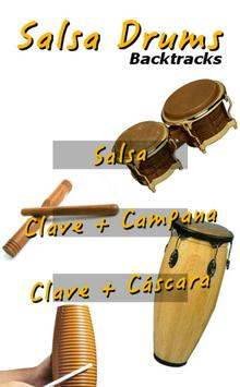 Salsa Drums Backtracks poster