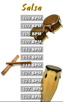 Salsa Drums Backtracks screenshot 1