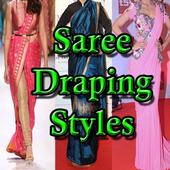 Saree Draping Styles icon