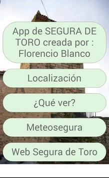 Segura de Toro poster