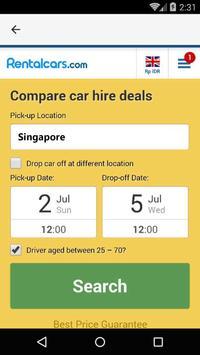 Singapore Car Rental screenshot 1
