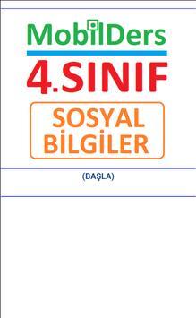 4.SINIF SOSYAL BİLGİLER poster