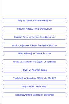 4.SINIF SOSYAL BİLGİLER apk screenshot