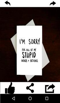 Sorry Greeting Cards Free screenshot 14