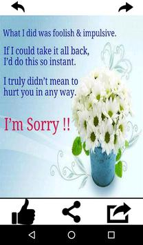 Sorry greeting cards free for android apk download sorry greeting cards free screenshot 21 m4hsunfo