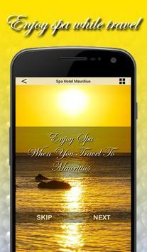 Spa Hotel Mauritius poster