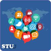 All social media in one app icon