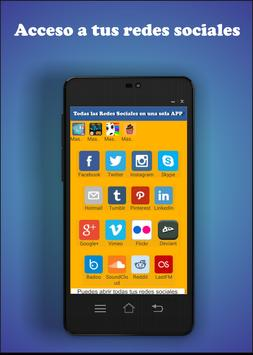 All social media in one app apk screenshot