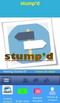 stump'd poster
