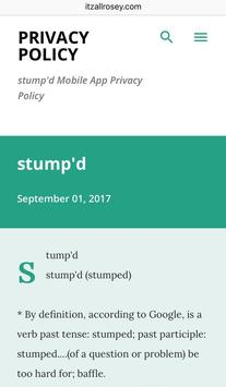 stump'd apk screenshot