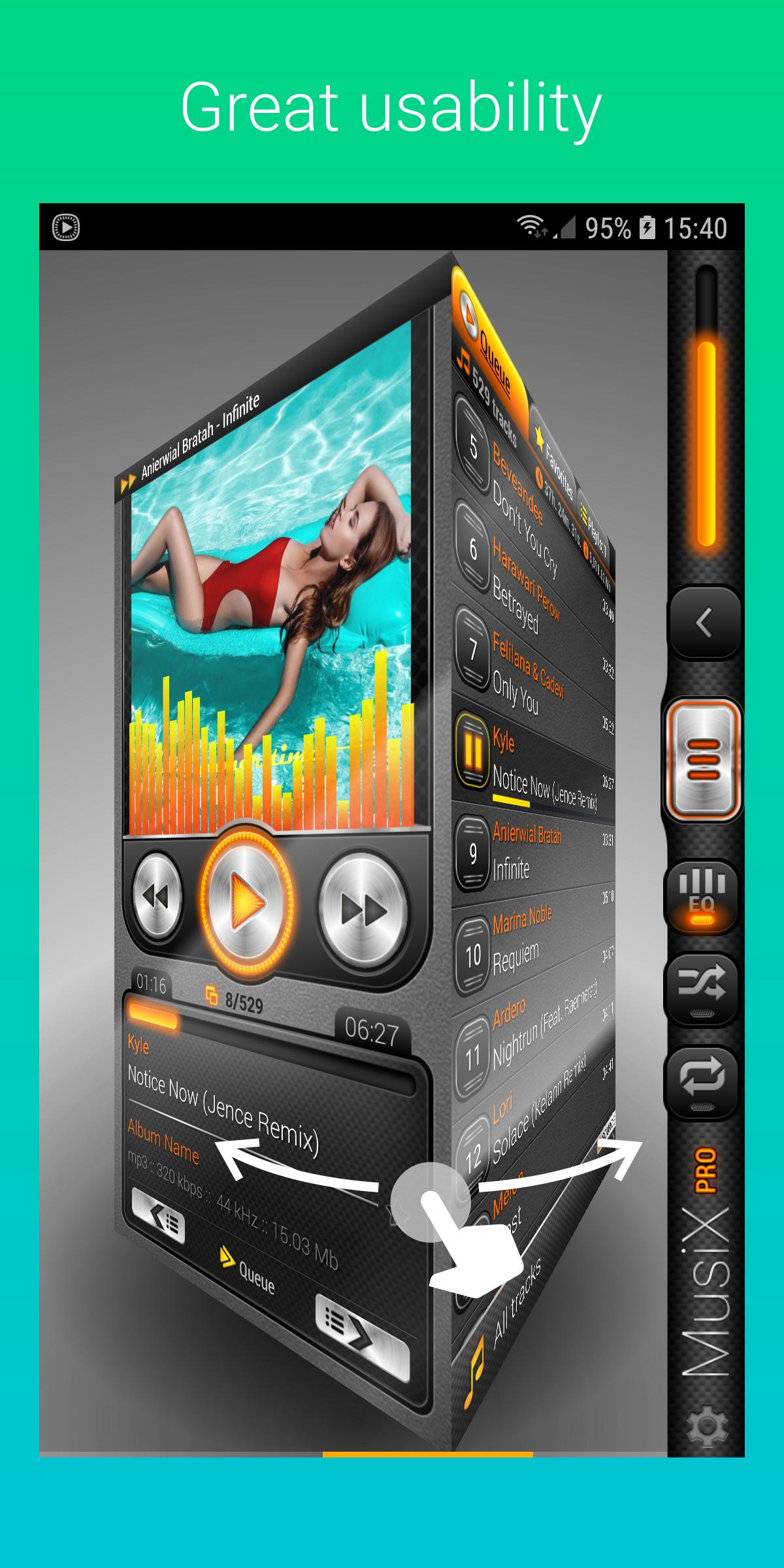 Musix player pro full apk | Poweramp Pro APK Latest Full