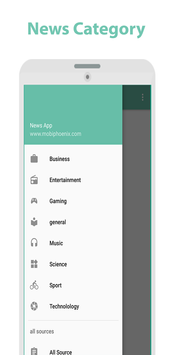 News App screenshot 1
