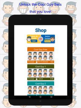 Cool Guy Emoji apk screenshot