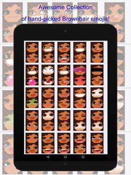 BrownhairMoji screenshot 6