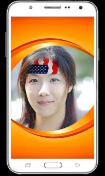 Flag Face Painting: Flag on Profile Picture apk screenshot