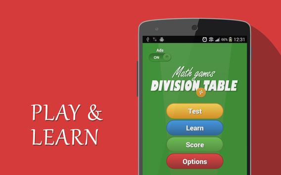 Learn Division Tables (for Kids) screenshot 2