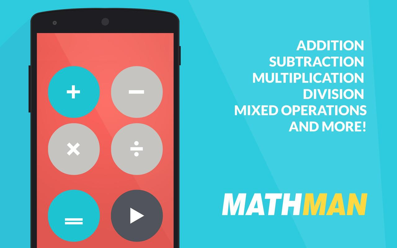 Mathman - Basic math (for Kids) APK Download - Free Educational GAME ...