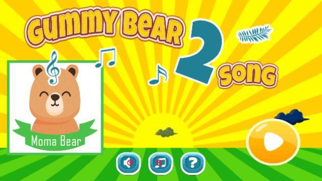 Moma Gummy Bear poster