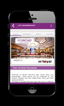 The Orchid Rewards App apk screenshot