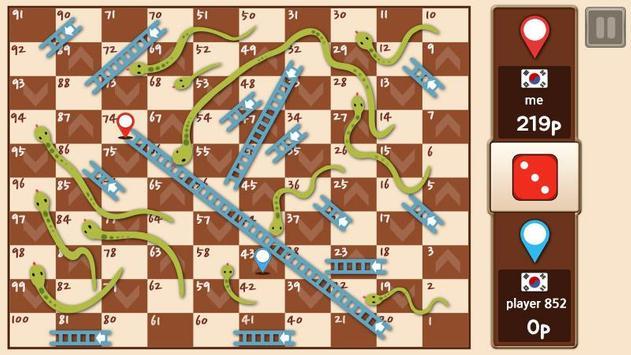 Slangen en ladders koning APK-screenhot