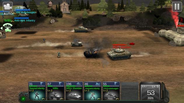 Commander Battle screenshot 4