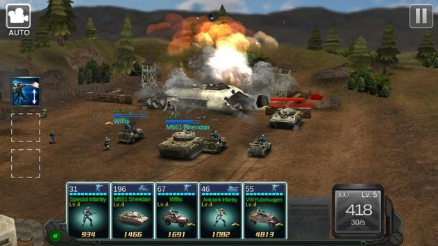 Commander Battle screenshot 5