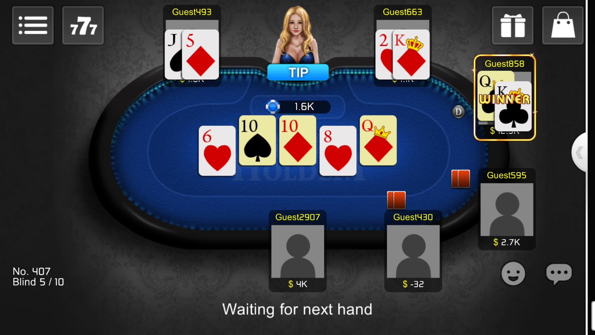 BB Texas Holdem poster