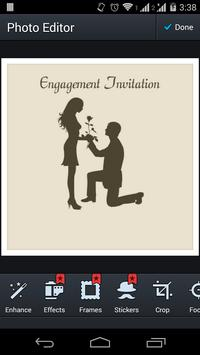 Engagement Invitation Lite apk screenshot