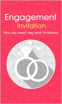 Engagement Invitation Lite poster