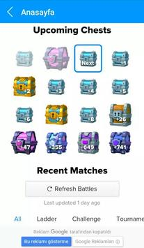 Stats Royale Chest Tracker apk screenshot