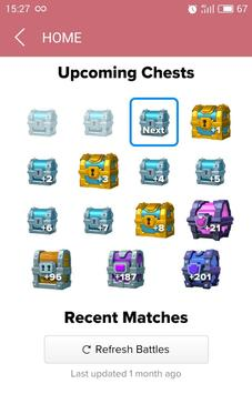 Stats Royale Next Chest poster