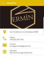 Ermin Gayrimenkul apk screenshot