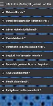 Osmanlı Kültürü KPSS poster