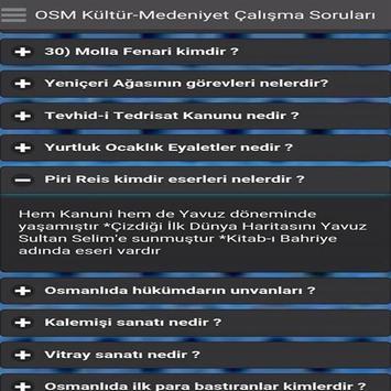 Osmanlı Kültürü KPSS screenshot 4