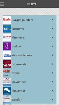 Kürt Medyası-Medyaya Kurdî apk screenshot