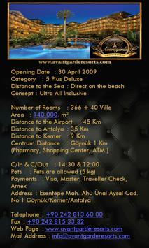 Avantgarde Hotel & Resort screenshot 3