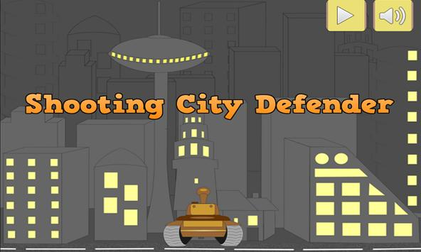 Shooting : City defender poster